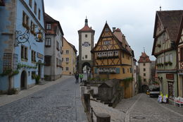 Rothenburg main wall entrance gates , Fabio M - June 2013