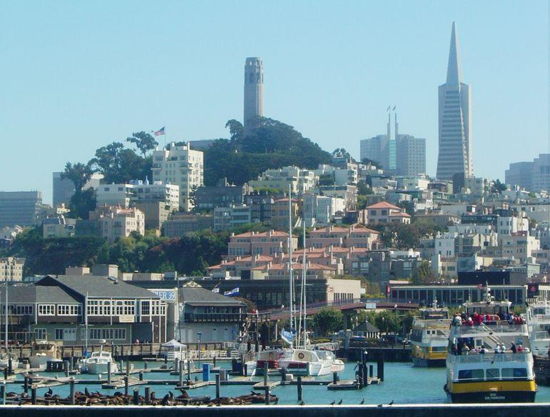 San Francisco from Pier 39 - San Francisco
