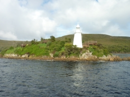 Lighthouse at Hells Gate., Roy H - September 2010