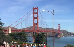 The Red Bridge on San Francisco Bay , Tony V - September 2015