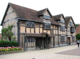 Some of the Tudor houses, neighbouring Shakespeare's birthplace., Alfred George Cross - September 2009