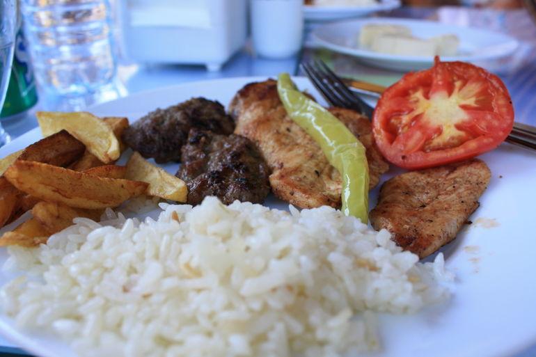 Turkish Lunch Part II - Kusadasi
