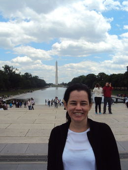 Visita a cidade de Washington DC, obelisco ao fundo. , ROSE R - May 2014