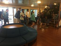 The lobby of the boat. , Sam M - July 2017