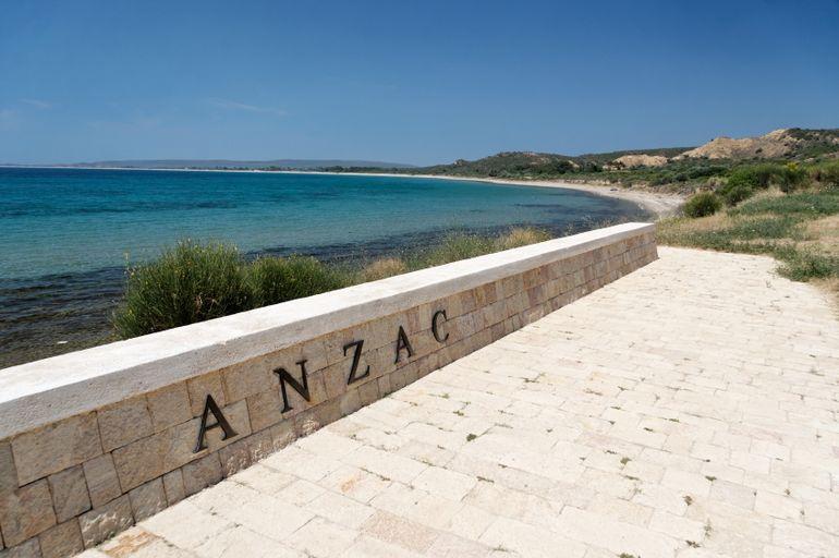 Anzac Cove, Gallipoli - Istanbul