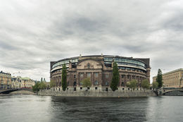 Stockholm parliament, HTravelerUK - April 2014