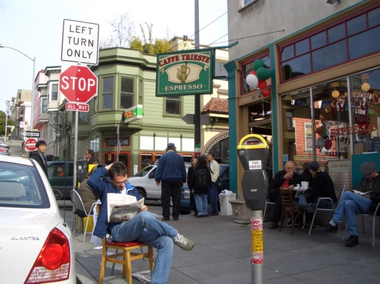 Caffe Trieste, North Beach -