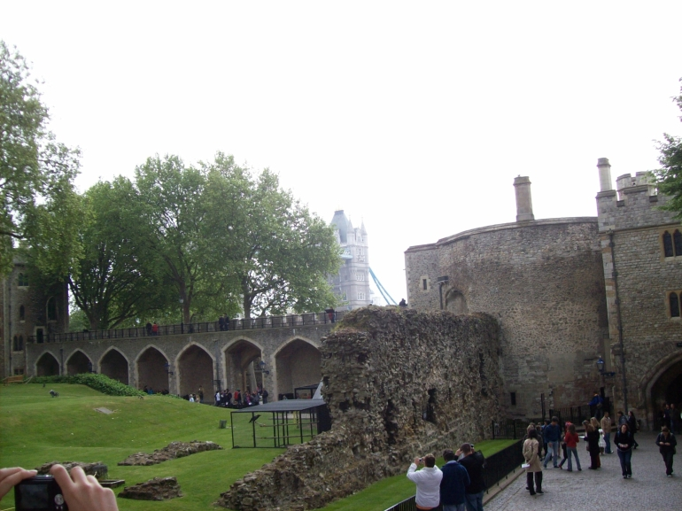 Inside the Tower of London - London