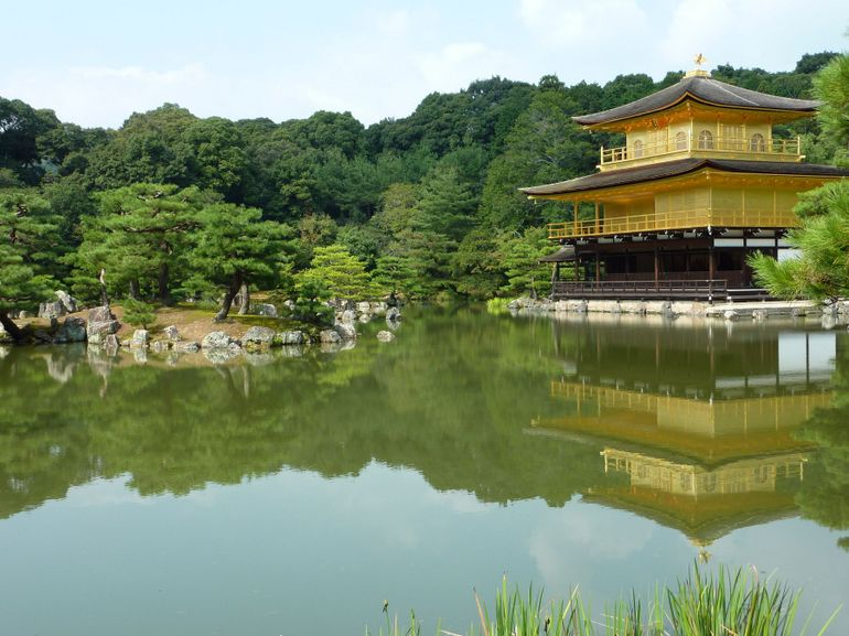 Kinkakuji Temple (Golden Pavillion) - Kyoto