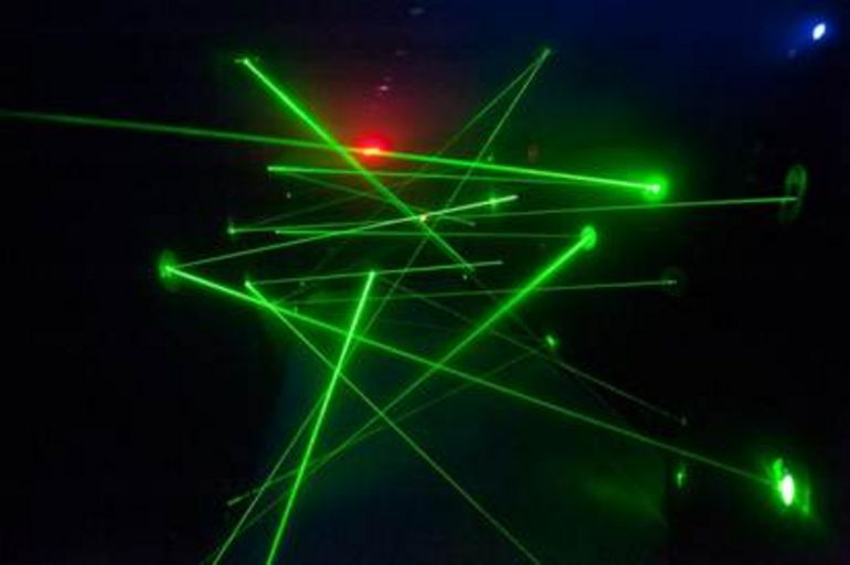 laserrace.jpg - New York City