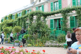 The view of Monet's house from the gardens. , Mitch B - July 2013