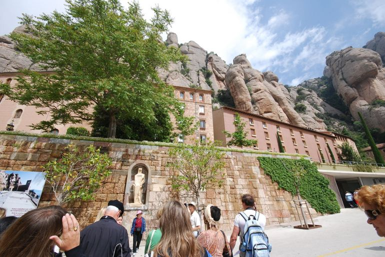 Montserrat's Honoring of Important Figures - Barcelona