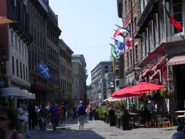 Old Montreal , Rebecca H - August 2015