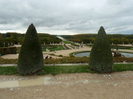 A view of the gardens surrounding the palace , Herb - October 2012