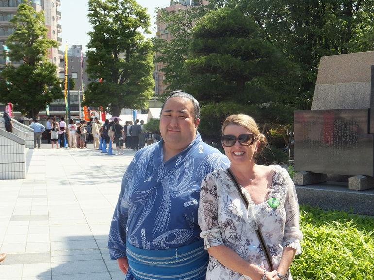 Sumo wresting - Tokyo