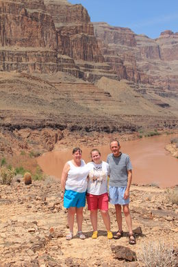 Us all at the bottom of the Canyon, so peaceful !!! , John G - September 2013