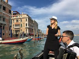 Private singer on our gondola. Well worth the cost of upgraded tour! , Nicholas A - August 2016