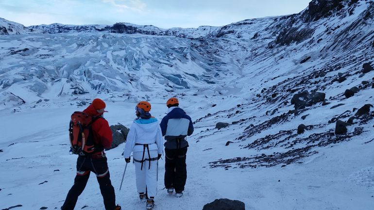 Glacier Hiking and Ice Climbing Small-Group Adventure from Reykjavik