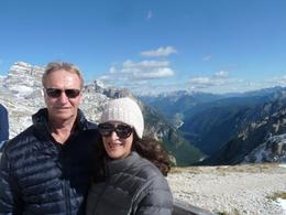Dave and Anni at the pinnacle of our tour, spectacular! , casann - December 2017