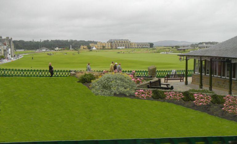 4j1-St. Andrew's Golf Course-a - Edinburgh