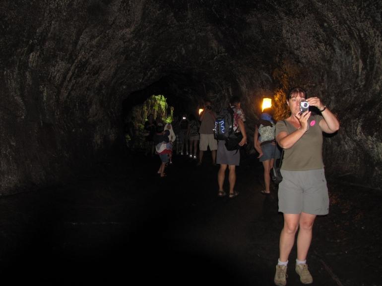 A lava tube - Oahu