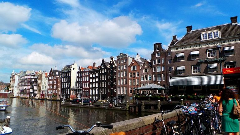 Amsterdam City Centre - Brussels