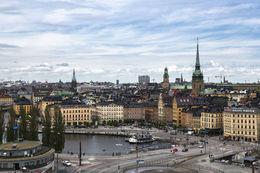 Beautiful view over Stockholm, HTravelerUK - April 2014