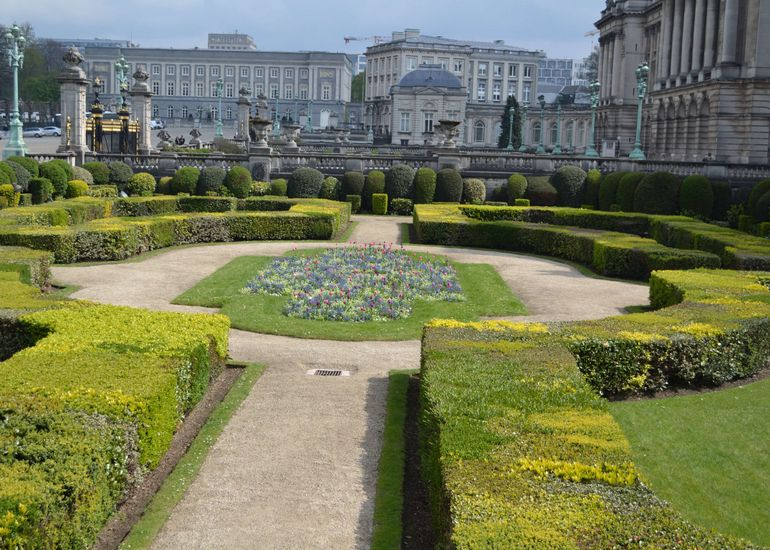 Brussels Royal Palace Gardens - Brussels