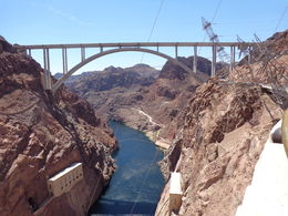 The bypass bridge at the Hoover Dam. , Robert N - September 2014