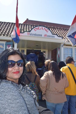 Entrance to Volendam museum , RAHUL S - May 2015