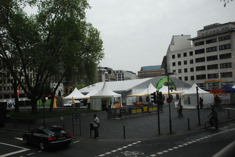 Execution square in modern times today - Frankfurt