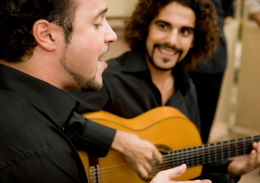 Real Flamenco musicians with heart and soul. The vocalist is the focal point. - May 2011