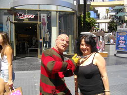 My wife meets Freddy Krueger! , Tony - September 2015