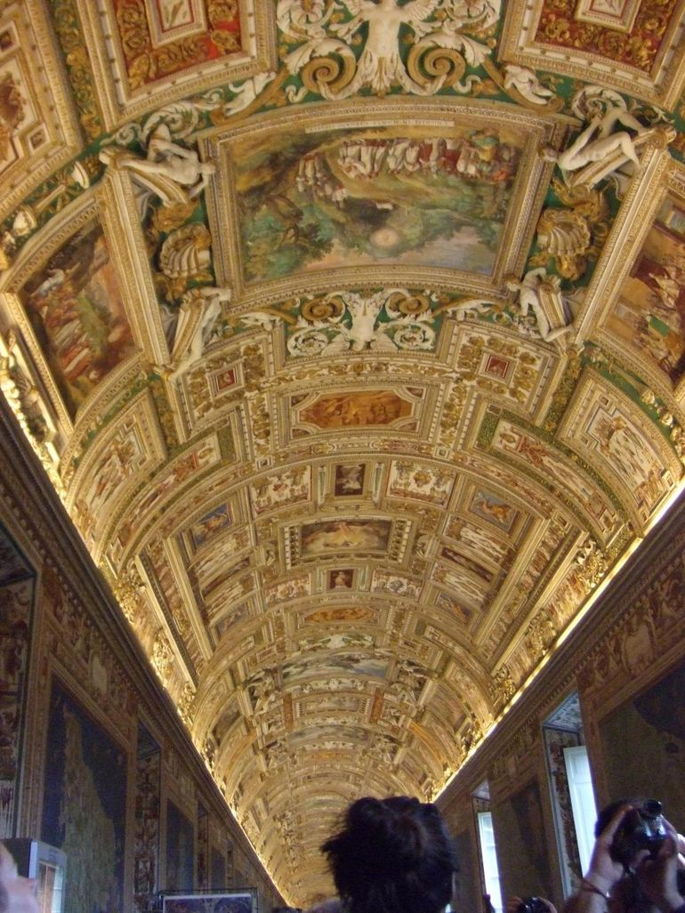 Gallery of Maps (Ceiling) - Rome