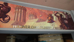 Walking into Hoover Dam Exhibition Gallery to find out some genuinely interesting facts about the hoover Dam , D a H - May 2015