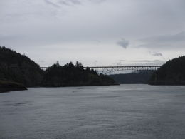Trip takes you under Deception Pass Bridge , Ann - May 2012