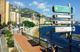Monaco ... Taking directions , Bev Chislett - January 2016