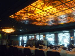 Beautiful glass ceiling above us! , Aprietos - July 2011