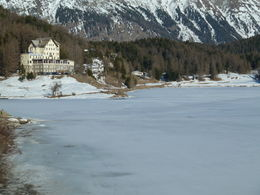 The frozen lake , mazza - April 2012