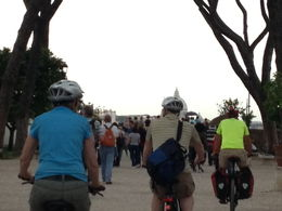 Riding our bikes , Kathi M - June 2013