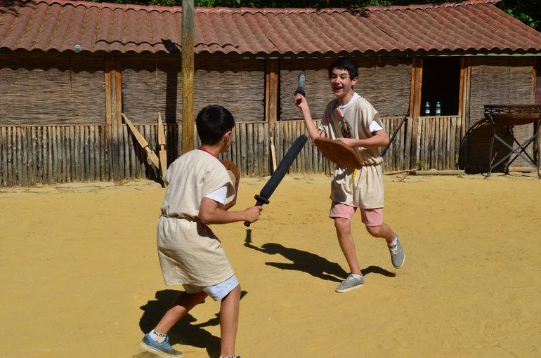 Roman Gladiator School - Rome