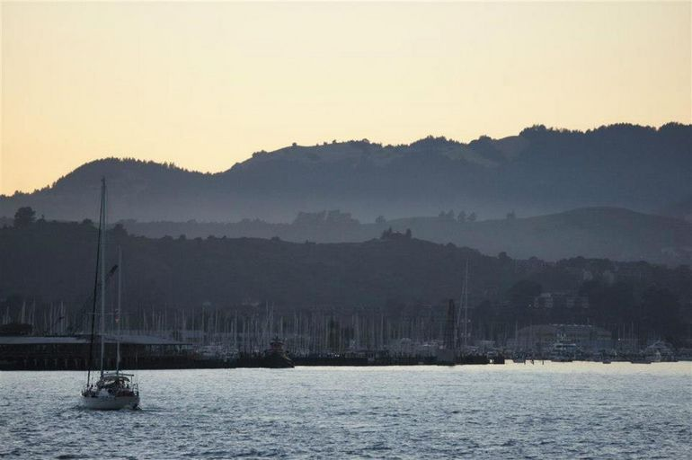 Sunset near Sausalito - San Francisco