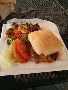 Angel island burger. Yummy. , Henry C - November 2013