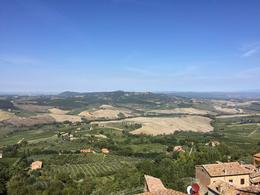 Overlooking the Tuscany area , Lisa C. - October 2016
