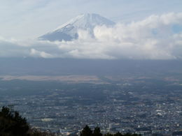 from photo-op near Hakone late in day. , Steve J - December 2010