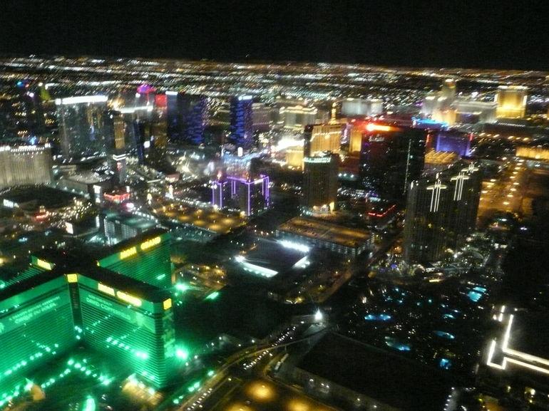 Vegas at night - Las Vegas