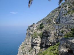Breath taking Amalfi coast - at the entrance in Sorrento, Gabriela B - August 2010