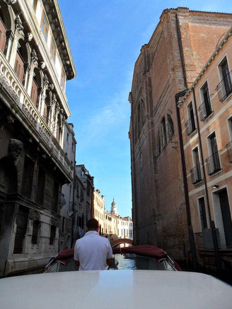 Entering Venice - Venice