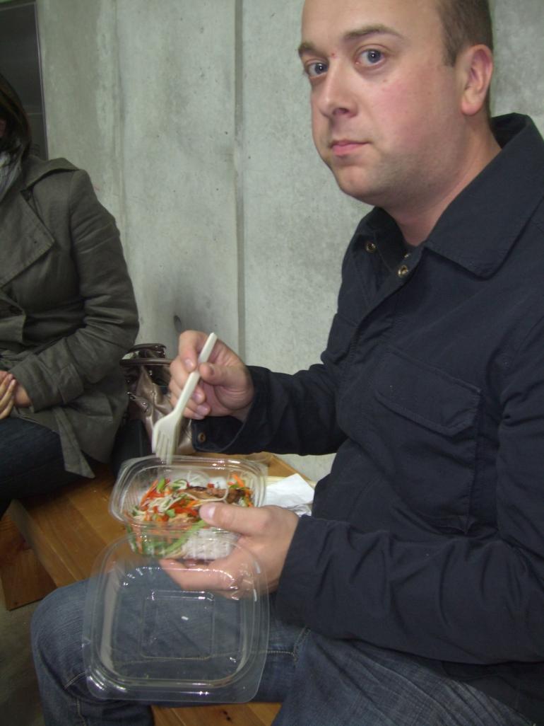 Food from the food bar - San Francisco