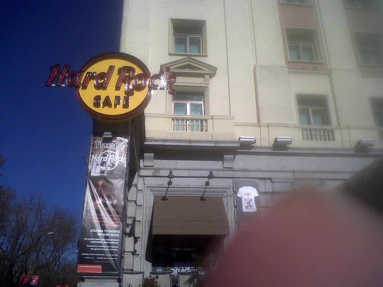 MÁS FOTOS, Hard Rock Cafe Madrid Including Meal